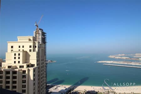 2 Bedroom Flat for Sale in Jumeirah Beach Residence (JBR), Dubai - Fully Furnished Duplex | 2 Bed | Palm View