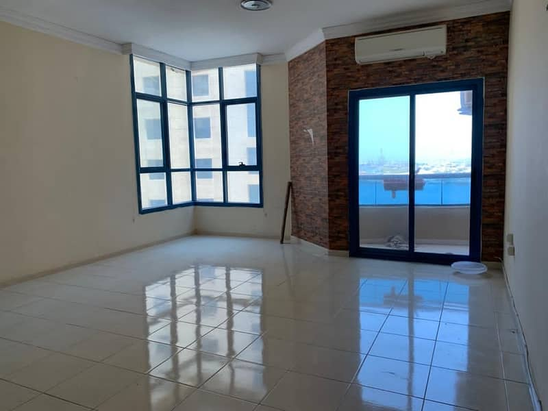 INVESTOR DEAL!! GIANT SIZE 2BHK WITH SEAVIEW FOR SALE IN AL KHOR TOWERS AJMAN B1