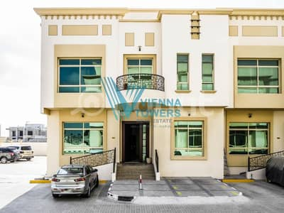 Studio for Rent in Khalifa City A, Abu Dhabi - Neat-Clean-Secure w/ Gate Remote Brand New