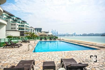 شقة 1 غرفة نوم للايجار في نخلة جميرا، دبي - Private Beach Access | Sea View | Vacant
