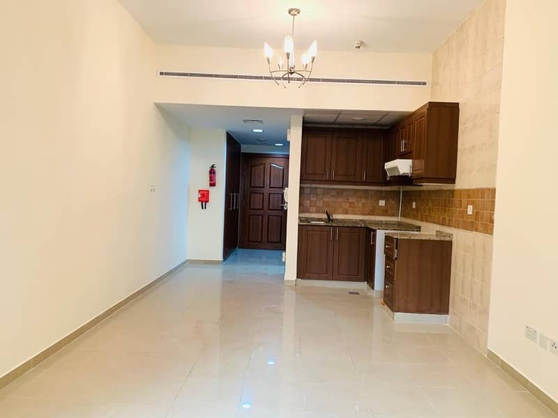 One month free Spacious Ac free Studio in 26k with wardrobe parking free all facilities 4,6 payments