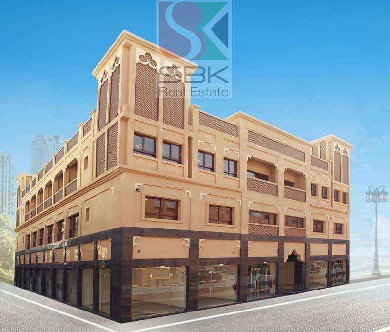 HUGE STUDIO  WITH CLOSE KITCHEN AVAILABLE NEXT TO AL FAHIDI  METRO