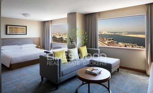 Hotel Apartment for Rent in Deira, Dubai - Stunning studio hotel apartment plus 1 month free!