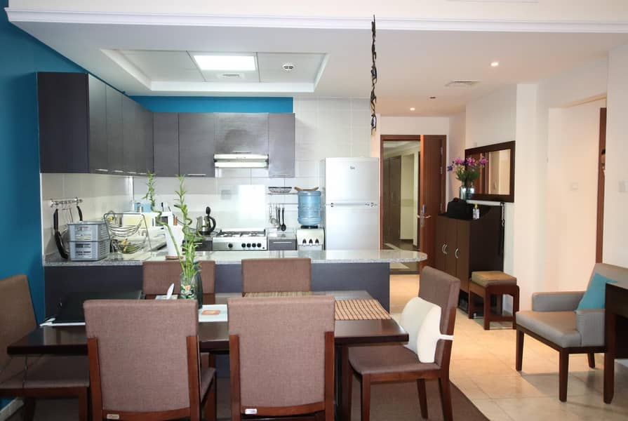 Good Sized 2Bedroom   With Balcony   Fully Furnished