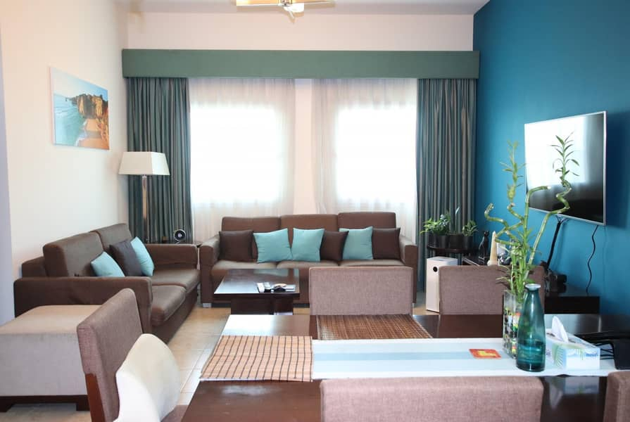 2 Good Sized 2Bedroom   With Balcony   Fully Furnished