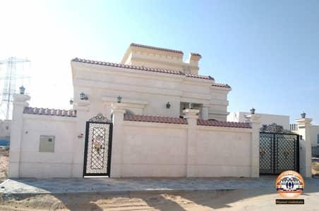 فیلا 3 غرف نوم للبيع في الحليو، عجمان - فيلا للبيع واجهه حجر على شارع جار بتصميم عصرى باقل الاسعار