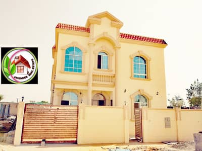 5 Bedroom Villa for Sale in Al Helio, Ajman - Villa for sale in Ajman, Al Helio area, two floors, excellent finishes, with the possibility of bank financing