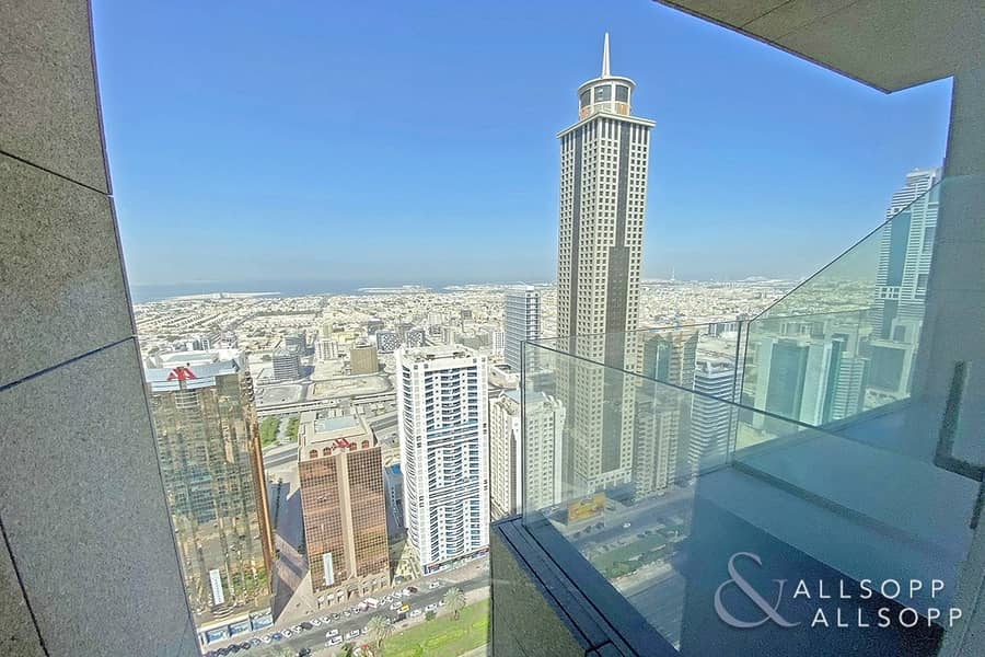 Sea And SZR View | Burj View | 2 Bedrooms