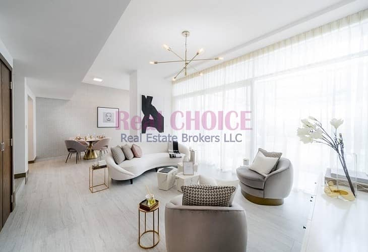 Customized Open Kitchen | 2 Bed Duplex Apartment | Rented