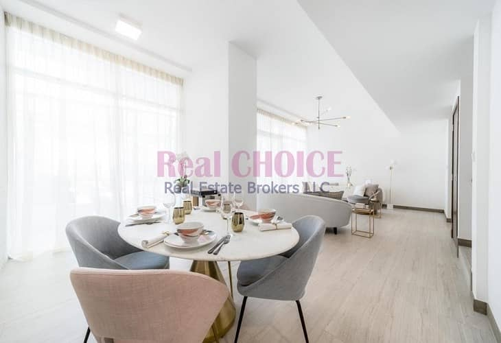 2 Customized Open Kitchen | 2 Bed Duplex Apartment | Rented