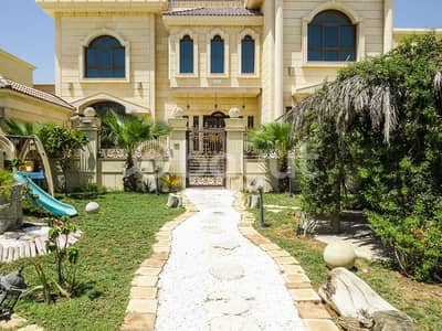 For lovers of luxury and distinction, villa for rent in Al Hamidiyah, new, first inhabitant, with excellent area and great location