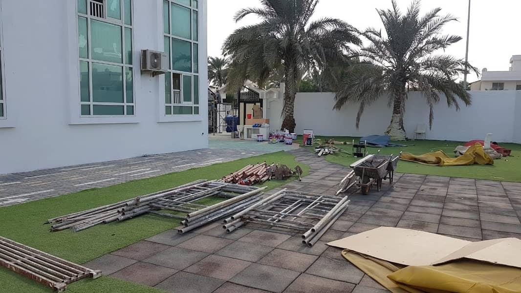 *** COMMERCIAL/RESIDENTIAL – Spacious 6BHK Duplex Villa available in Al Hazannah area, Sharjah