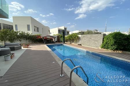 5 Bed | Corner | Burj Views | Landscaped