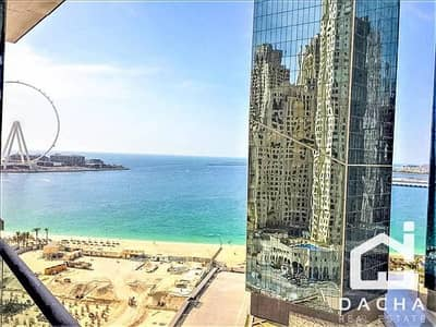 2 Bedroom Apartment for Rent in Jumeirah Beach Residence (JBR), Dubai - Breathtaking sea views  Luxuriously furnished  Spacious