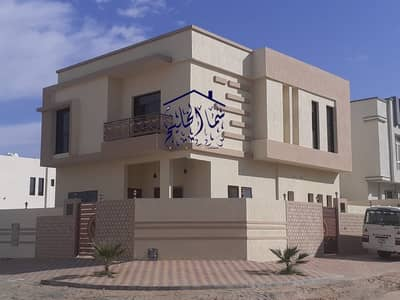 5 Bedroom Villa for Sale in Al Helio, Ajman - For sale a villa in Ajman, free ownership for all nationalities without down payment on bank financing, up to 100% of the property value