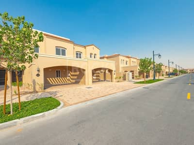 2 Bedroom Townhouse for Rent in Serena, Dubai - 2-Bed plus Maids Room | 2 Parking | Bella Casa