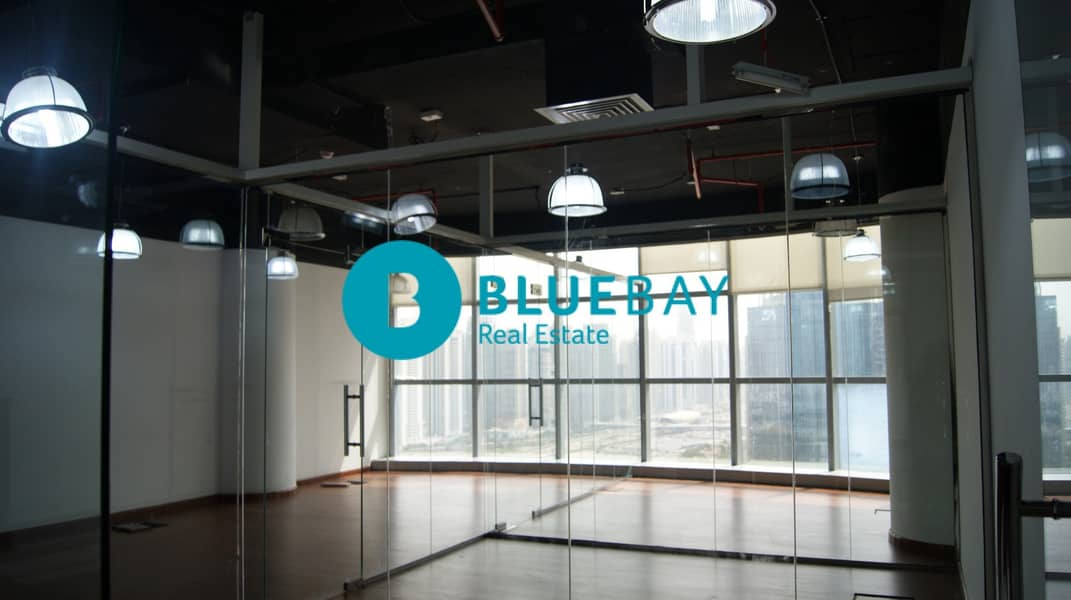 2  160 sq. ft.   Fitted Office w/ Glass Partitions in Media City