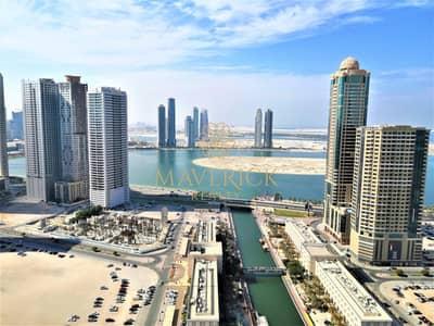2 Bedroom Flat for Rent in Al Majaz, Sharjah - Full Sea View | Lavish 2BHK+Balcony+Wardrobes