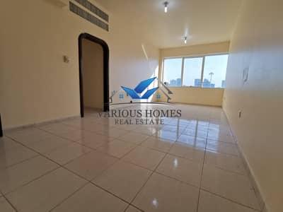 فلیٹ 2 غرفة نوم للايجار في آل نهيان، أبوظبي - Spacious Size 02 Bedroom Hall Apartment with Tawtheeq in Well Maintained Building at Al Nahyan Camp