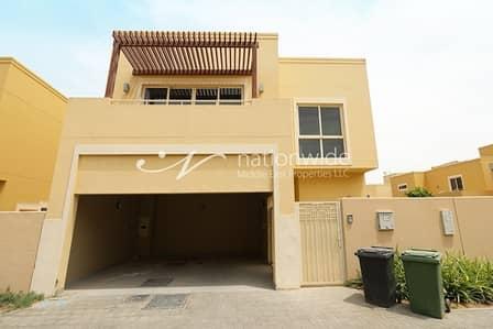 تاون هاوس 4 غرف نوم للايجار في حدائق الراحة، أبوظبي - Vacant Soon! A Spacious Type S Townhouse