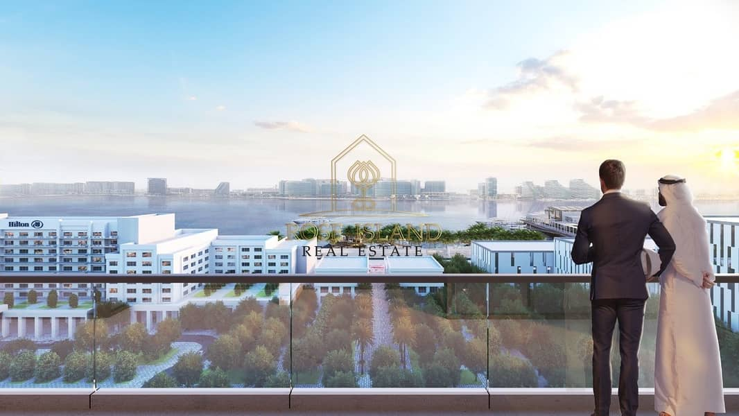 11 THE NEWEST IN YAS ISLAND /FULL SEA VIEW /WITH 0% COMMISSION