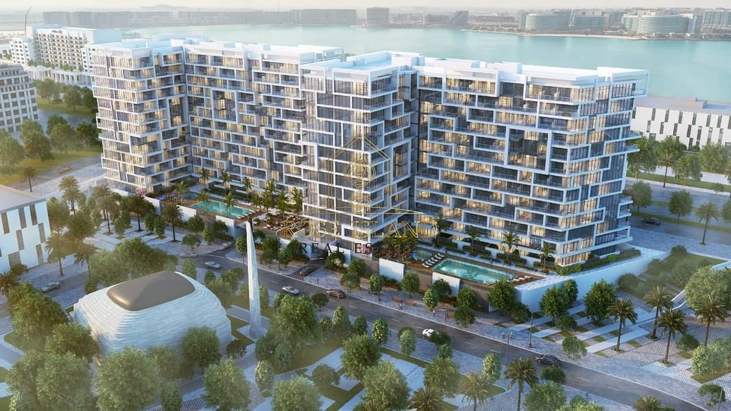 2 THE NEWEST IN YAS ISLAND /FULL SEA VIEW /WITH 0% COMMISSION