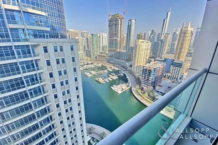 شقة 3 غرف نوم للايجار في دبي مارينا، دبي - Marina View | Unfurnished | 3 Bedrooms