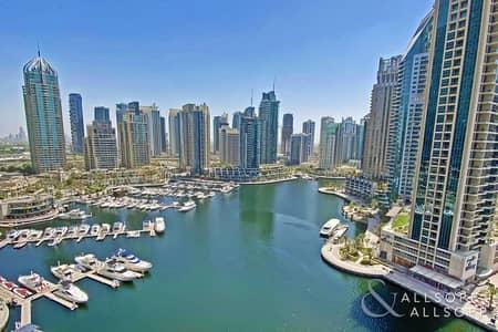 شقة 2 غرفة نوم للبيع في دبي مارينا، دبي - Marina Views | Mid Floor | 2 Beds | 1521 SF