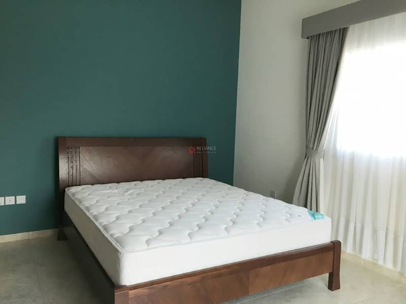 Furnished and spacious 2 bedroom with balcony now available for rent