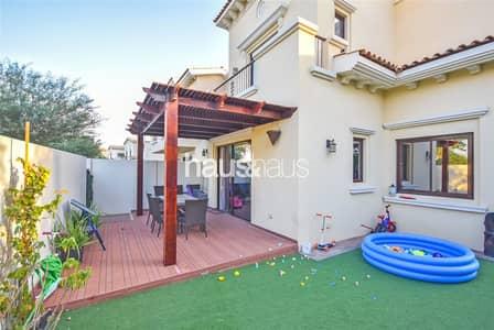 3 Bedroom Villa for Rent in Reem, Dubai - Single Row | Beautiful Garden | Close to Pool | 2E