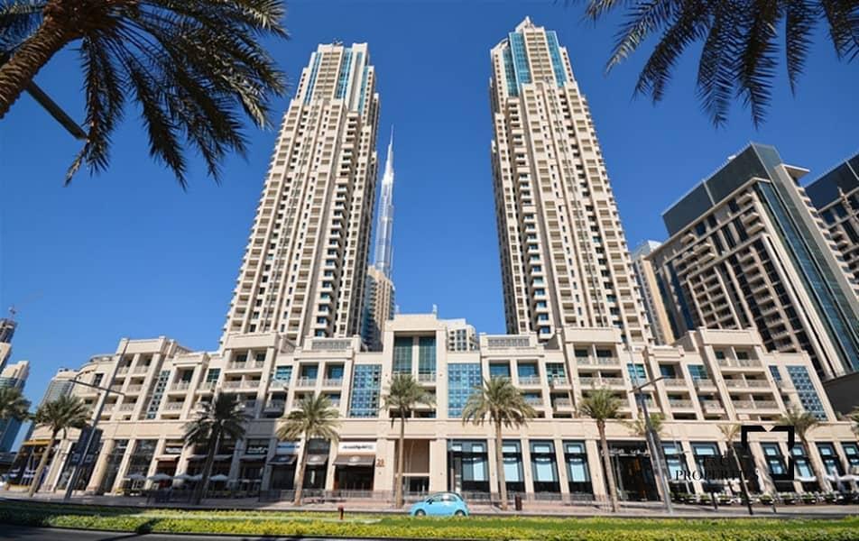 13 Study R | Burj Khalifa view | Chiller free