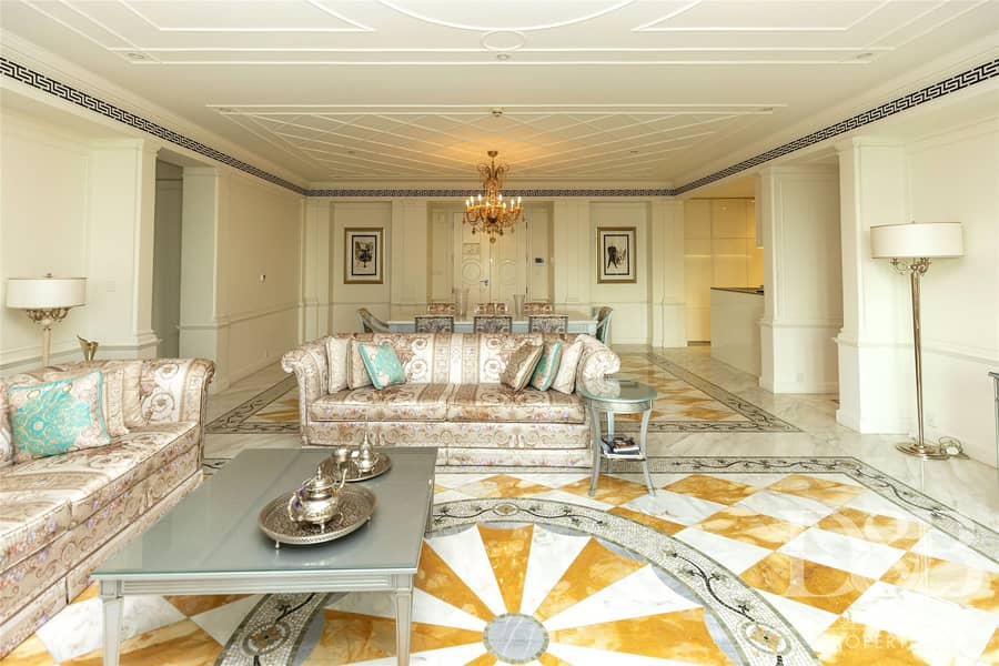 Versace Residence | Fully Furnished | Luxury