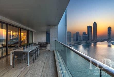 بنتهاوس 5 غرف نوم للبيع في الخليج التجاري، دبي - Stunning Full Floor | Burj Khalifa Views