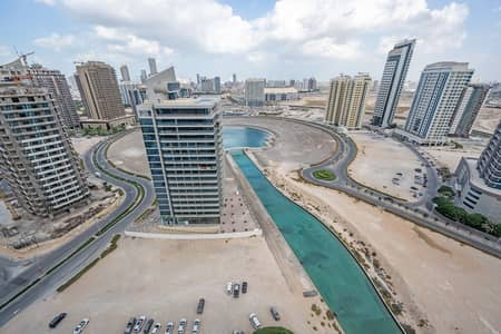 Studio for Sale in Dubai Sports City, Dubai - Fully Furnished Studio | with Stunning Canal Views