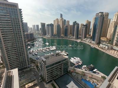 شقة 3 غرف نوم للايجار في دبي مارينا، دبي - Full Marina View | Chiller Free | 3 Beds + study