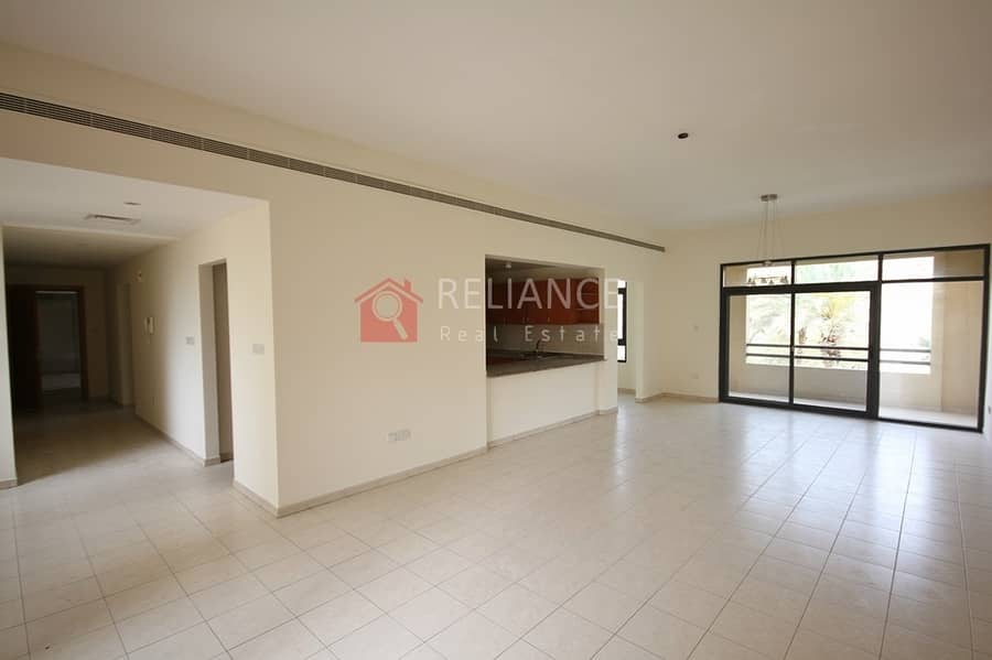 Rare Large Size | 2 Bedrooms + Study | 1625 sqft