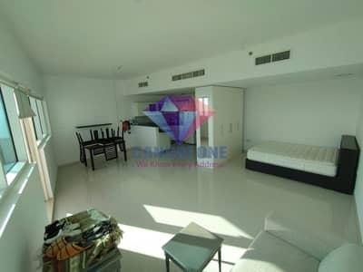 Studio for Rent in Al Reem Island, Abu Dhabi - Furnished 650SQFT with balcony Sea view