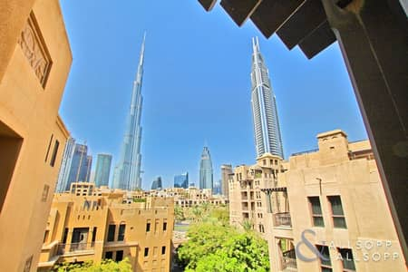 2 Bedroom Flat for Rent in Old Town, Dubai - 2 Bedrooms | Study | Vacant | Unfurnished