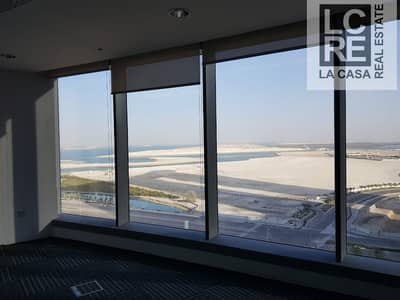Office for Rent in Al Reem Island, Abu Dhabi - Upscale with Partitioned and Ready for Occupancy
