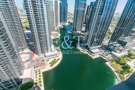 3 Bedroom Flat for Rent in Jumeirah Lake Towers (JLT), Dubai - Exclusive | Lake View | Upgraded + Furnished | JLT