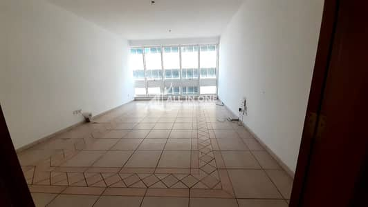 3 Bedroom Flat for Rent in Airport Street, Abu Dhabi - Spacious 3BR+Maids Room I Available Parking!