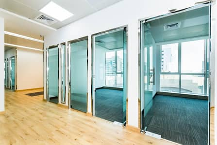 Office for Rent in Defence Street, Abu Dhabi - Welcome to our Bright Offices | Business Center