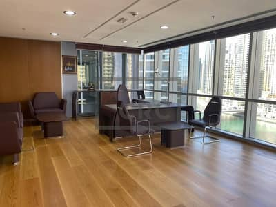 Office for Sale in Dubai Marina, Dubai - Brand New Fit Out & Furniture| Sea View