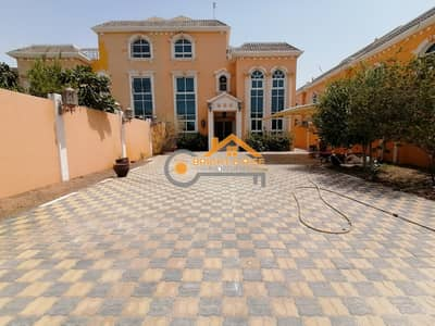 6 Bedroom Villa for Rent in Mohammed Bin Zayed City, Abu Dhabi - Separate 6 BR villa with big yard - MBZ city