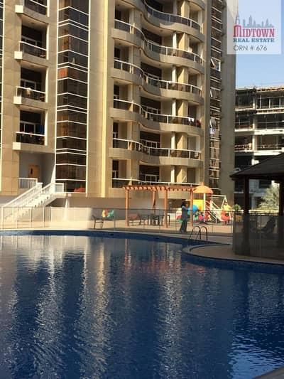 شقة 1 غرفة نوم للايجار في واحة دبي للسيليكون، دبي - Lowest price & Specious size with closed kitchen 1br avl in DSO