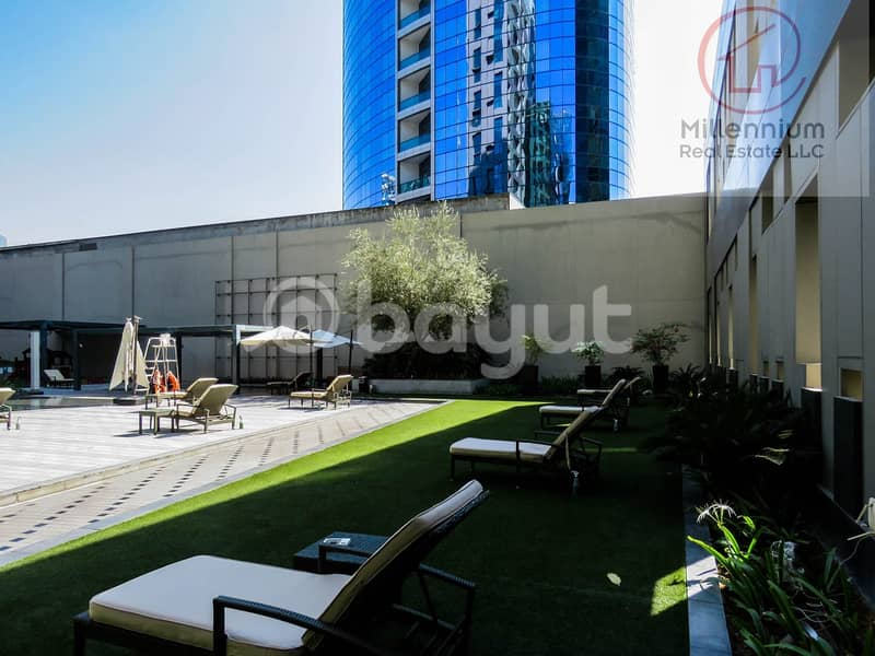 3 bedrooms for rent Damac Cour Jardin