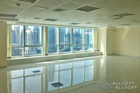 مکتب  للبيع في أبراج بحيرات الجميرا، دبي - Close to Metro | Fitted Unit | Parking Space