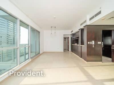 فلیٹ 1 غرفة نوم للايجار في وسط مدينة دبي، دبي - High Floor   Unbeatable Location   Spacious