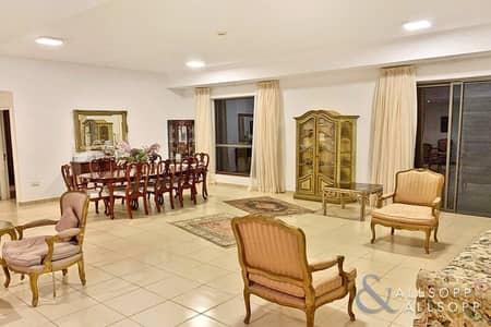 4 Bedroom Apartment for Sale in Jumeirah Beach Residence (JBR), Dubai - Large 4 Beds + Maids | VOT | Marina Views