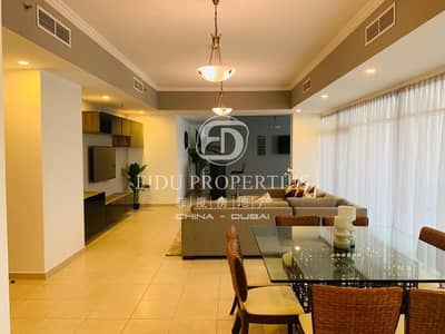 شقة 3 غرف نوم للبيع في وسط مدينة دبي، دبي - High Floor | Vacant | Fully Furnished Apartment